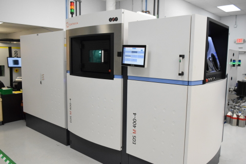 Sintavia's third M400 large-scale industrial printer. (Photo: Business Wire)