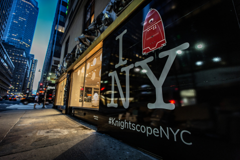 Knightscope's Security Team of the Future Takes Residency in Midtown Manhattan (Photo: Business Wire)