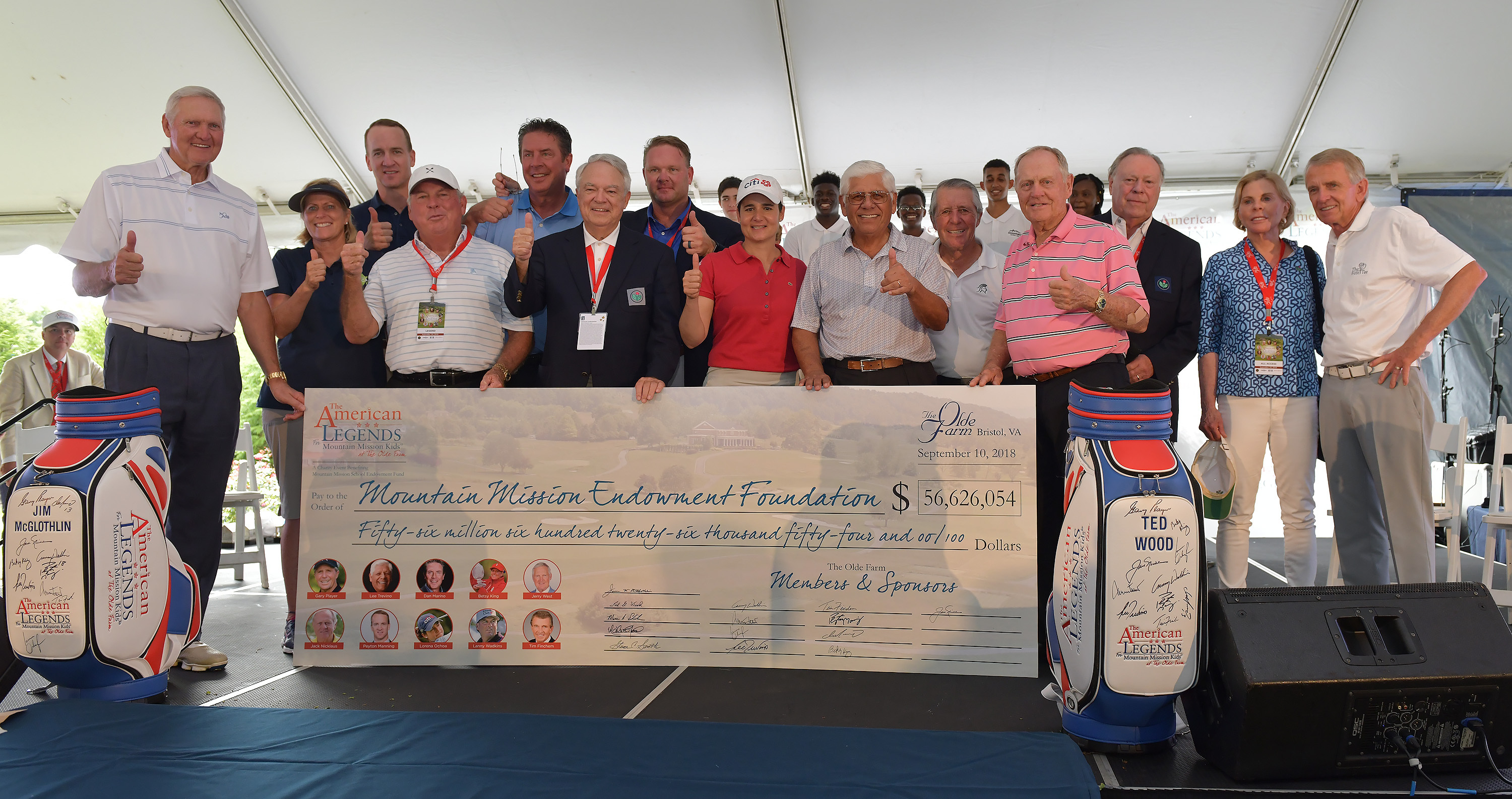 The American Legends Golf Tournament Drives $56 6 Million in