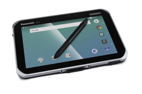 "Panasonic Toughbook FZ-L1 - 7"" Android Rugged Tablet with Stylus Pen (Photo: Business Wire)"
