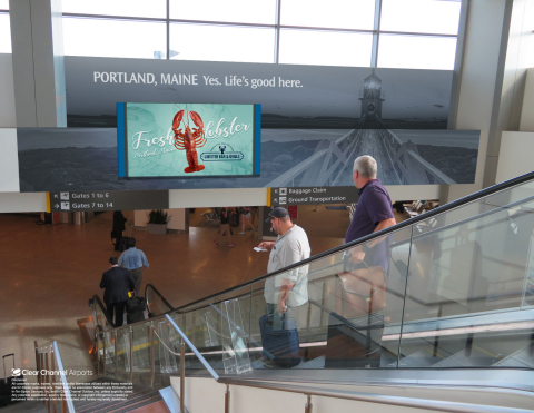 Portland International Jetport is the primary connection to the world air transportation system for area business travelers. (Photo: Business Wire)