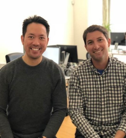 Eric Wu, Opendoor CEO and co-founder and Judd Schoenholtz, Open Listings CEO and co-founder  (Photo: Business Wire)