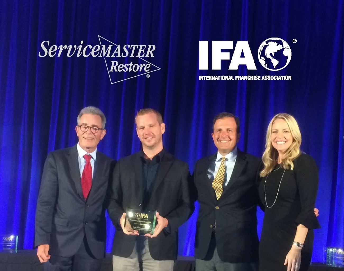 Mark and Helena Ralph named ServiceMaster Franchisee of the
