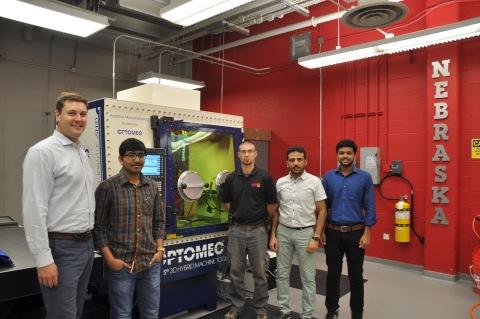 University of Nebraska Lincoln Uses LENS Hybrid Controlled Atmosphere System to Develop Next Generat ...