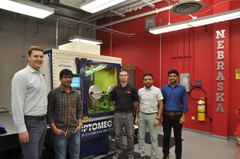 University of Nebraska Lincoln Uses LENS Hybrid Controlled Atmosphere System to Develop Next Generation Dissolvable Medical Implants (Courtesy of Optomec)
