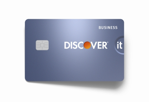 The new Discover it Business card offers unlimited 1.5 percent cash back on all purchases, along with free business and security features, all with no annual fee. (Photo: Business Wire)