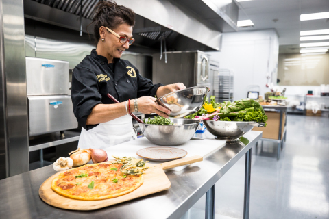 Chef Carylann Principal is Executive Chef of The Mint Dispensary in Tempe, where she has helped to create a revolutionary new concept in the medicinal cannabis industry with the nation's first full-service, on-site cannabis kitchen. (Photo: Business Wire)
