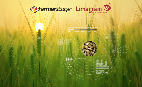 Farmers Edge and Limagrain Europe Partner to Deliver Impactful Technologies to the European Market. (Graphic: Business Wire)