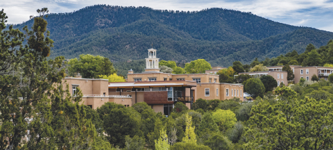 St. John's College campus in Santa Fe, New Mexico. St. John's College has a second campus in Annapolis, Maryland. (Photo: Business Wire)