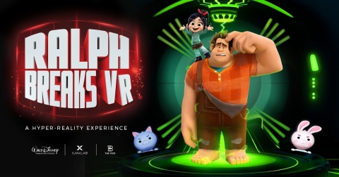 """Ralph Breaks VR,"" a new hyper-reality experience by The VOID, ILMxLAB, and Walt Disney Animation Studios, debuts this fall. (Graphic: Business Wire)"