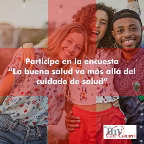 Se alienta a las personas que viven con VIH a responder al cuestionario, que podrán encontrar en https://www.surveygizmo.com/s3/4562238/Good-Health-Is-More-Than-Health-Care-Quiz-Spanish (Photo: Business Wire)