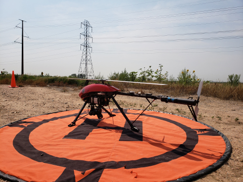 Xcel Energy is the first U.S. utility to operate drones beyond visual line of sight during ongoing i ...