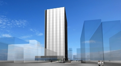Rendition of Osaka 6 Data Center (Graphic: Business Wire)