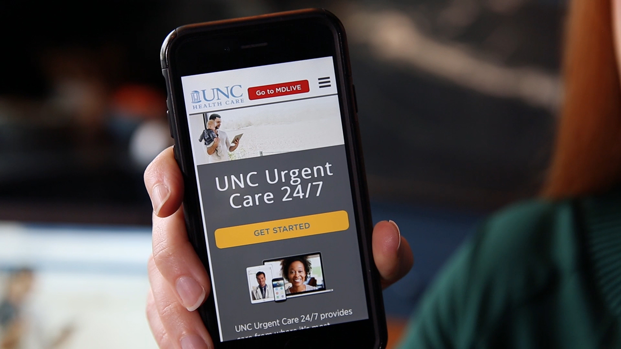 UNC Health Care is waiving fees Fri-Sun for hurricane victims in NC using its UNC Urgent Care 24/7 service (Video: Business Wire)