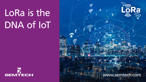 Semtech's LoRa Technology Drives Proven, Flexible Internet of Things (IoT) Solutions (Graphic: Busin ...