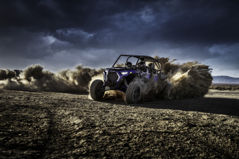 Polaris RZR unveils the gnarliest four-seater ever, meet the RZR XP 4 TURBO S (Photo: Business Wire)
