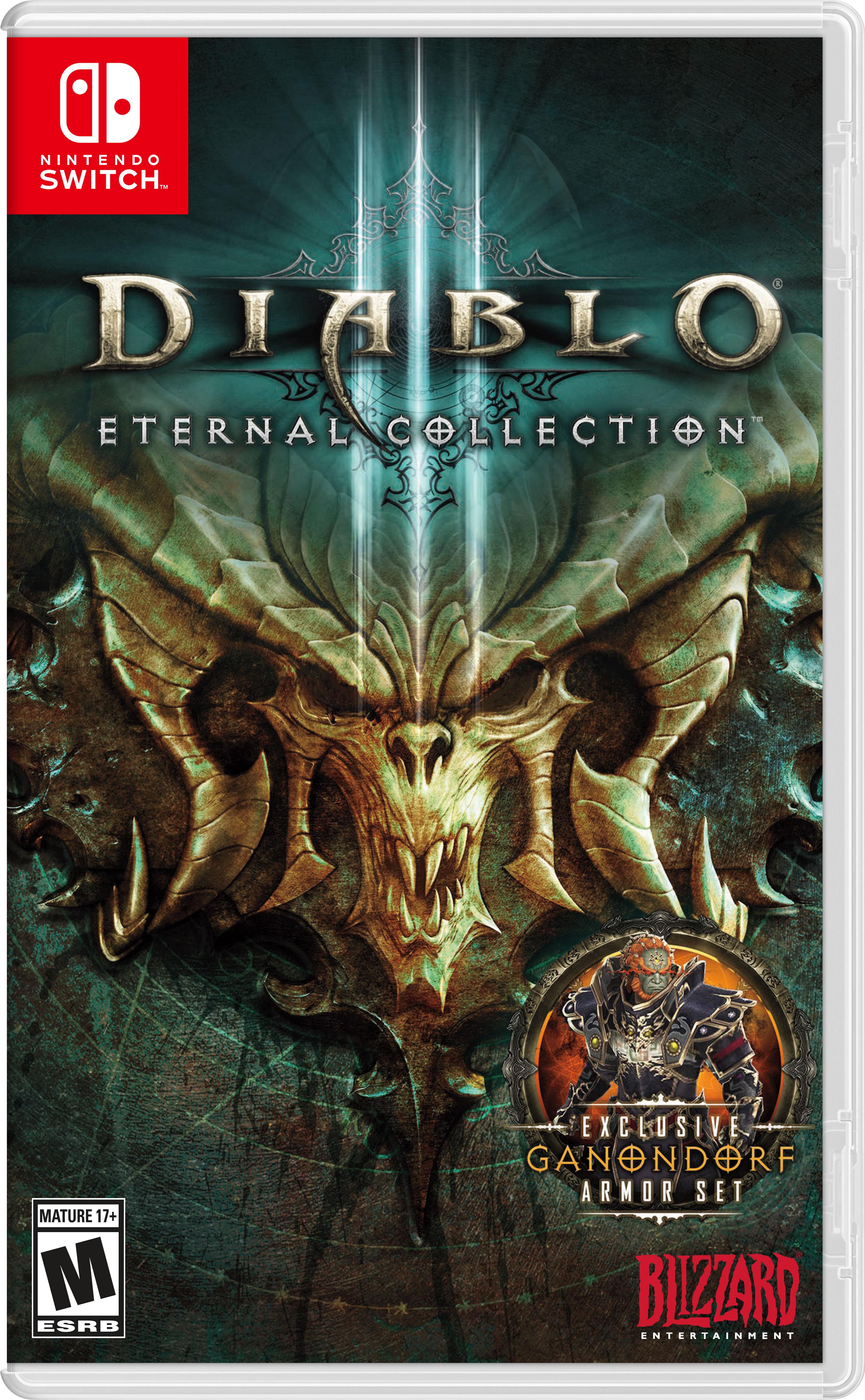 Diablo® III Eternal Collection™ Invades Nintendo Switch on
