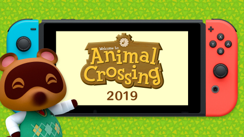 A new mainline game in the Animal Crossing series is slated for a 2019 release exclusively on Nintendo Switch. (Graphic: Business Wire)