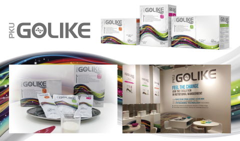 PKU GOLIKE. Feel the change: Join the evolution in nutritional management (Photo: APR Applied Pharma ...