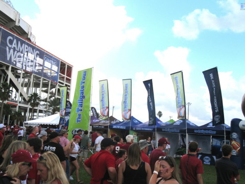The Tailgate Tour @ Camping World Stadium, September 1, 2018 (Photo: Business Wire)