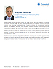 Stephen Pelletier, Executive Vice President and Chief Operating Officer, U.S. Businesses, Prudential Financial, Inc.