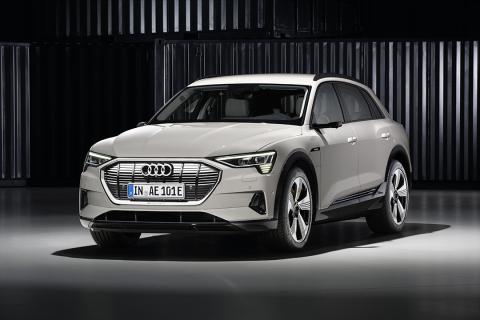 Audi launches the e-tron SUV (Photo: Business Wire)