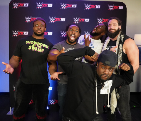 The soundtrack was exclusively revealed yesterday by WWE Superstars The New Day® and Elias™ - along  ...