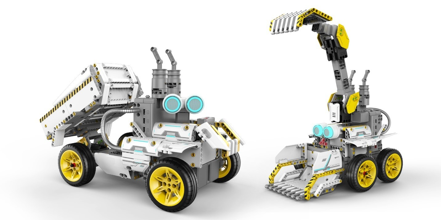 Dig Into Stem Learning With Ubtech S Newest Jimu Robot Builderbots