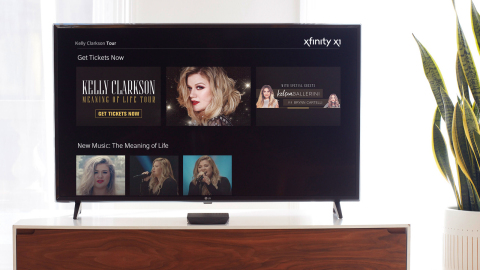 comcast and ticketmaster debut first concert ticketing experience on