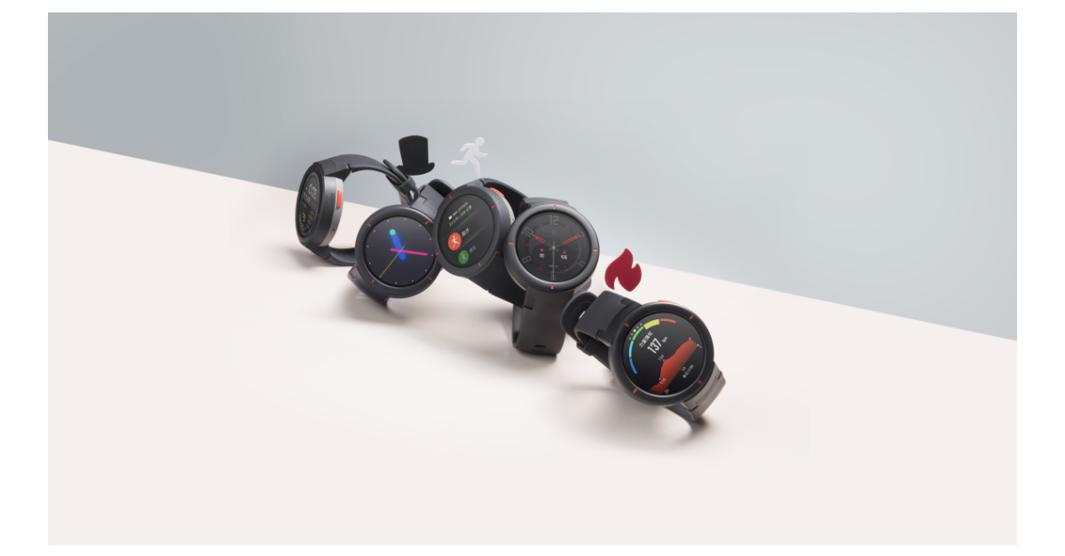 Huami Announces Two New Wearable Devices and AI Chip on Third Anniversary of Amazfit Brand