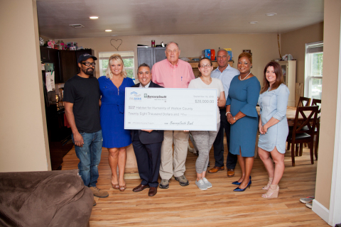 Habitat for Humanity of Walton County received a $28,000 Affordable Housing Program grant from BancorpSouth Bank and the Federal Home Loan Bank of Dallas to assist with construction costs of replacement housing for families living in unsafe conditions. (Photo: Business Wire)