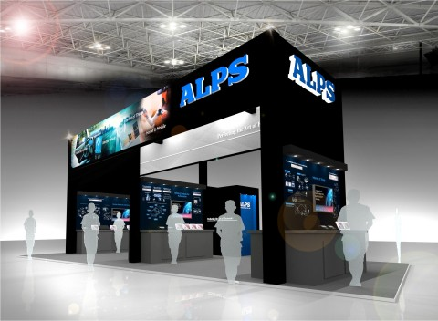 Alps Electric electronica India Booth (Photo: Business Wire)