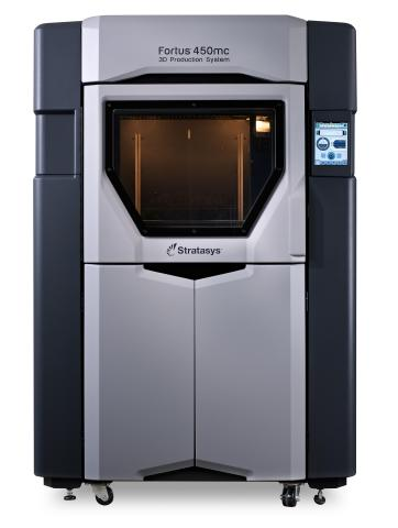 The Stratasys Fortus 450mc Production 3D Printer (Photo: Business Wire)