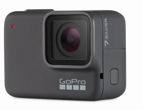 GoPro HERO7 Silver records 4K video at up to 30 fps, shoots 10MP photos, and offers many sophisticated features to go along with the image capture. (Photo: Business Wire)