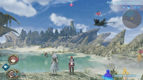 The Xenoblade Chronicles 2: Torna ~ The Golden Country game will be available on Sept. 21. (Graphic: Business Wire)