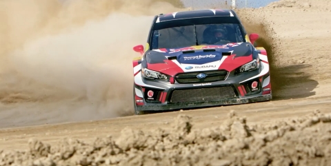 The world's best Rallycross drivers and FMX athletes are gathering for the third annual Nitro World Games action sports competition, coming to Utah Motorsports Campus, Saturday, September 22 and Sunday, September 23. (Photo: Business Wire)