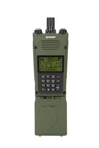 Harris Corporation's AN/PRC-163 provides next-generation, two-channel capabilities in a handheld radio. (Photo: Business Wire)