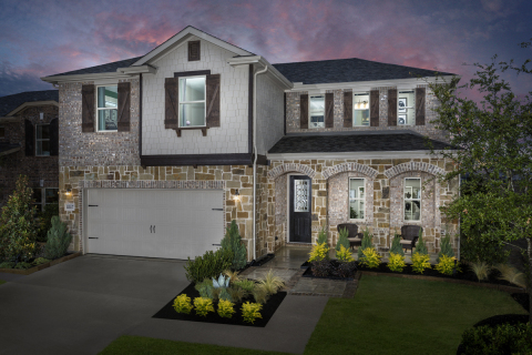 New KB homes are now available in Celina, Texas. (Photo: Business Wire)