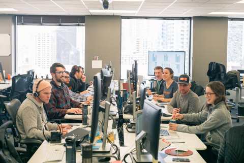 Convoy team in the Seattle office (Photo: Business Wire)