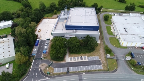 Fluor completes adhesives manufacturing facility in for Solvay in Wales on a fast-track schedule. (P ...