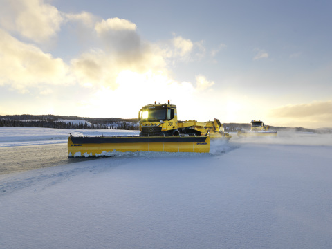 Avinor to Test Autonomous Snowploughs at Oslo Airport This Winter (Photo: Business Wire)