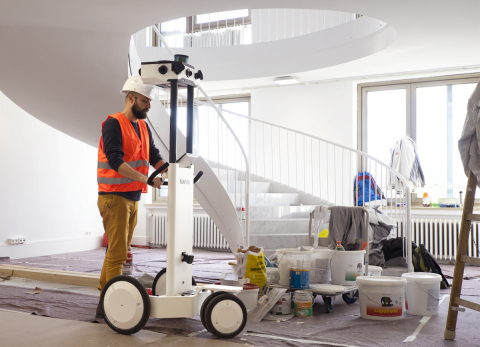 The M6 is a versatile and sophisticated system which could be used effectively with uneven terrain. AEC professionals, construction companies and manufacturers can also draw benefits from the higher data quality provided by this enhanced innovation. (Photo: Business Wire)