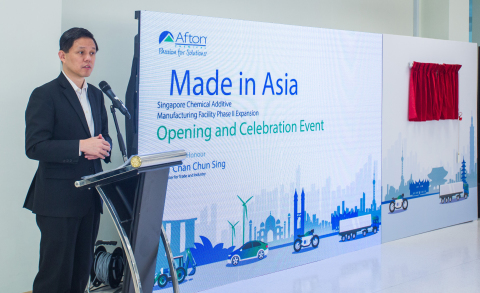 Afton Chemical Corporation – Singapore Chemical Additive Manufacturing Facility Phase II Expansion ( ...