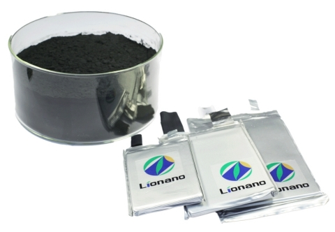 Lionano's advanced cathode material improves the performance of lithium-ion batteries in electric vehicles and consumer electronics. (Photo: Business Wire)
