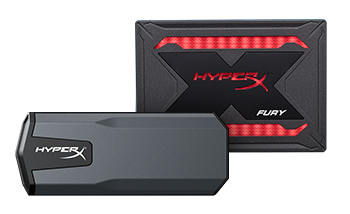 HyperX expands SSD lineup with FURY RGB SSD and SAVAGE EXO SSD. (Photo: Business Wire)