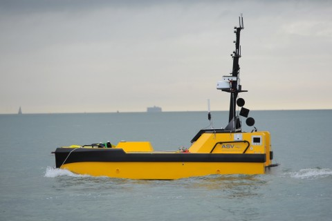 L3 ASV's C-Worker 7 is a multi-role work class autonomous vessel suitable for a variety of offshore  ...
