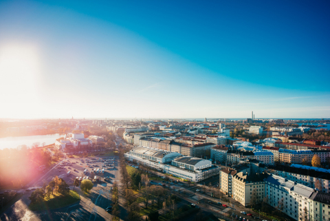 As the first European city Helsinki will follow New York City and become the second city in the world in effort to showcase crucial role of cities in achieving UN agenda for people, prosperity and planet. Photo: Jussi Hellsten