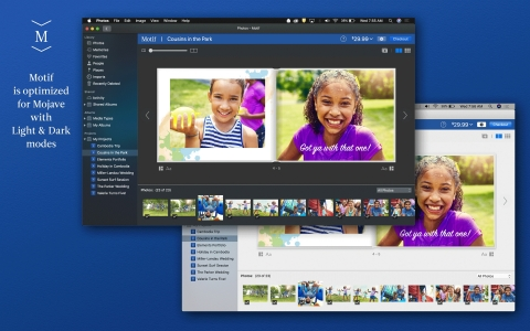 Motif is optimized for macOS Mojave with Light and Dark modes  (Photo: Business Wire)
