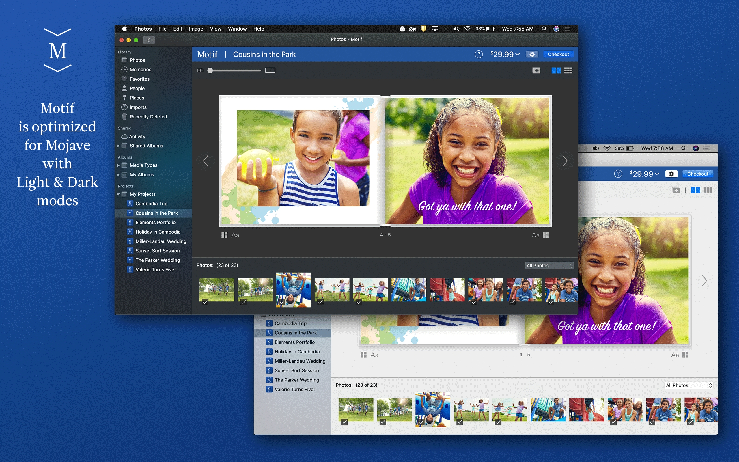 Motif Releases macOS Mojave Update for Apple Photos
