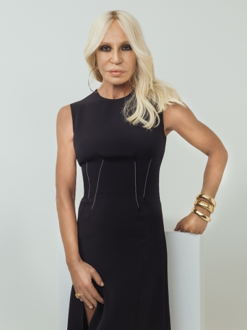 Donatella Versace. (Photo: Rahi Rezvani)